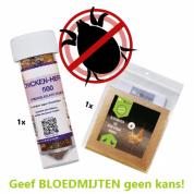 Bloedmijten preventiepakket   Voorkom bloedluizen